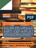 Géneros Literarios Y Narrativos
