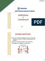BIOQUIMICA CLASE 7 2013 Glandulas y Hormonas
