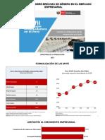 Diagnóstico Perfil de La Mujer Emprendedora en El Perú