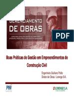Gerenciamento de Obras Pini 20160331