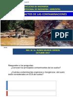 SESION 9 Efectos e Impactos de Las Contaminaciones