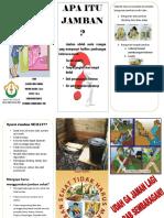 Leaflet Jamban