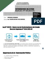 Material Ley de Contrataciones Del Estado