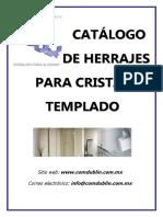 Catalogo de Cristal 2017