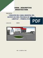 2. Memoria Arquitectura Camal Viru