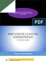Direcccion de La Accion Administrativa