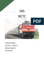 IRCTC SRS