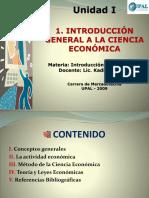 Unidad i Introducción General a La Ciencia Económica-i- 2010