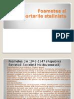 Foametea Si Deportarile Staliniste