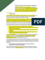 Sistema Computarizado de Analisis de Costos Unitarios y Presupuestos