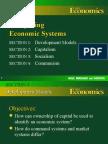 Development of Economic Systems & Examples