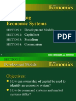 Development of Economic Systems & Examples