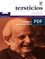 Intersticios 44-45. Emmanuel Levinas, pensador de la alteridad