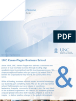 Unc - Developing the Mba Resume