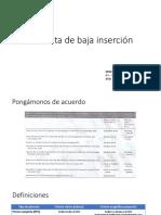 Placenta de Baja Inserción