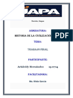 Trabajo Final Civilizacion Media