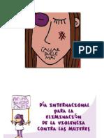 Frases y Dibujos No Violencia de La Mujer