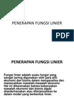 Kuliah-02-PENERAPAN-FUNGSI-LINIER(1)