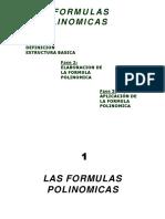 fromula polinomica