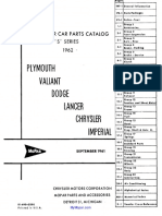 62 Mopar Parts Catalog