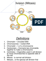 cell division  mitosis  for guided notes powerpoint 11 3 17
