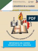 Investigación Importancia Del Control Estadístico en La Industria