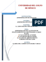 Administración de Las Fuentes de Financiamiento No Garantizados a Largo Plazo