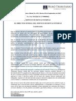 RO# 072-S - Establécense Las Normas Para La Devolución Del IVA Pagado Por Las Personas Adultas Mayores (5 Sep. 2017)