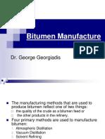 Bitumen Manufacture