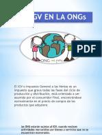 EL IGV EN LA ONGs