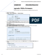 HOW TO_ Upgrade VNXe Firmware
