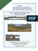 Informe Laguna Huachucocha