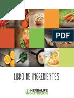 Libros de Ingredientes
