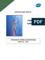 Especificaciones Tecnicas Torres y Torretas