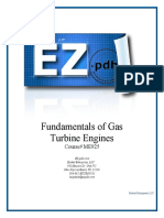 ME925 Fundamentals of Gas Turbine Engines