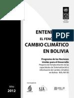 Entendiendo el fenomeno del cambio climático en Bolivia