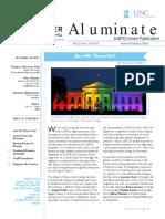 Aluminate LGBTQ Center Alum Newsletter Fall 2015