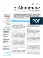 Aluminate LGBTQ Center Alum Newsletter Spring 2014
