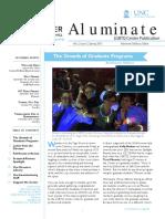 Aluminate LGBTQ Center Alum Newsletter Spring 2015