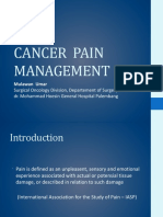 Cancer Pain Management