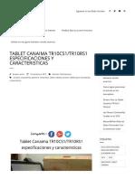 TR10RS1-TR10CS1 Especificaciones