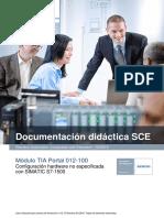SCE_ES_012-100 Unspecific Hardware Configuration S7-1500_R1512