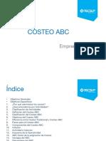 Unidad 8 Costos ABC 1