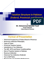 Taxation Structure in Pakistan