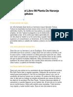Resumen Del Libro Mi Planta De Naranja Lima Por Capítulos.docx