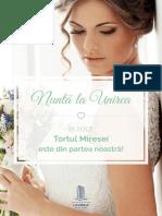 Brosura Nunta La Unirea 2017