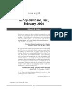 Harley Davidson - Grant