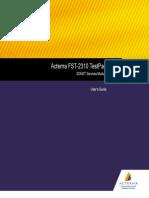 FST-2310 TestPad UserGuide