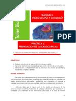 CITOLOGÍA 2-Preparaciones microscopicas