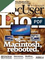 MacUser 5 August 2011